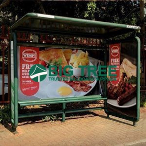 Outdoor advertising bus shelter Read morethe new light box bus shelter