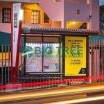 Bus shelter -Street Furniture manufacturer