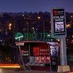 the new light box bus shelter Street Furniture manufacturer