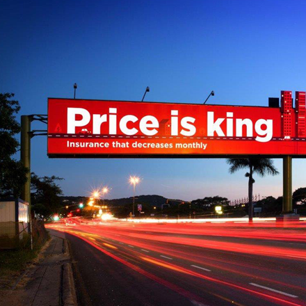 Gantry Advertising Steel Billboard