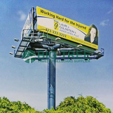 Three-Sided-Advertising-Unipole-Billboard-3