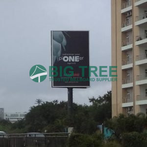 vertical advertising outdoor advertisement