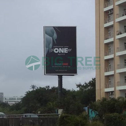 Vertical Unipole Billboard