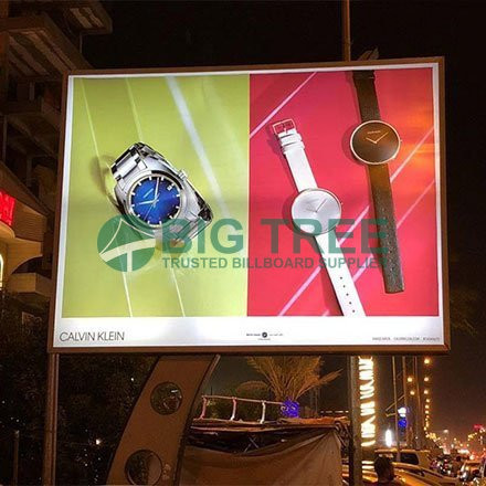 Arc-column-3-hole -light-box-Trusted Billboard Supplier