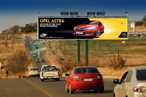 Cost-effective angle iron system billboard