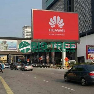 Outdoor Digital LED Screen Advertising Unipole Display