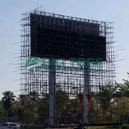 Outdoor SMD LED Screen Display Advertising Billboard Structure-led outdoor billboard