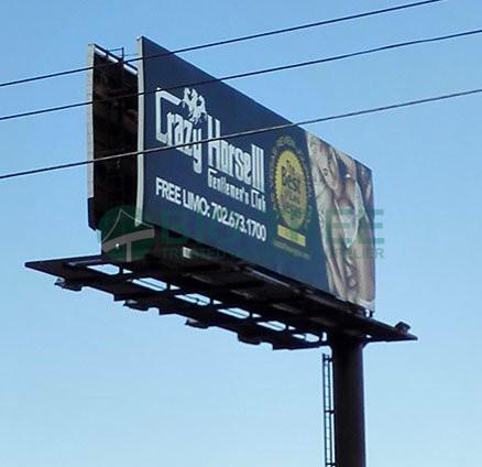 Off-center Outdoor billboard-438x424