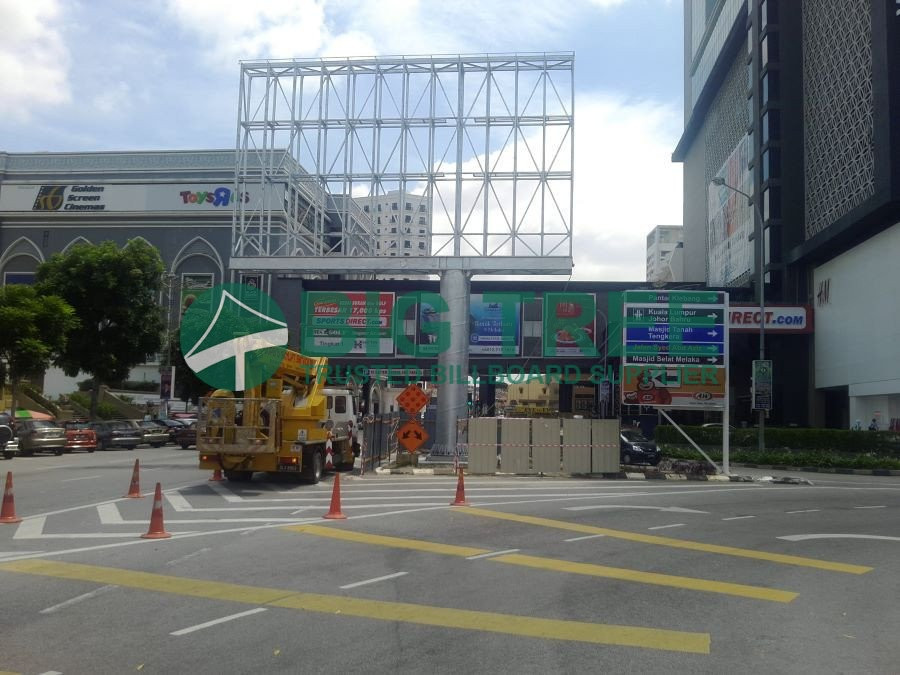 BIG TREE unipole billboard malaysia