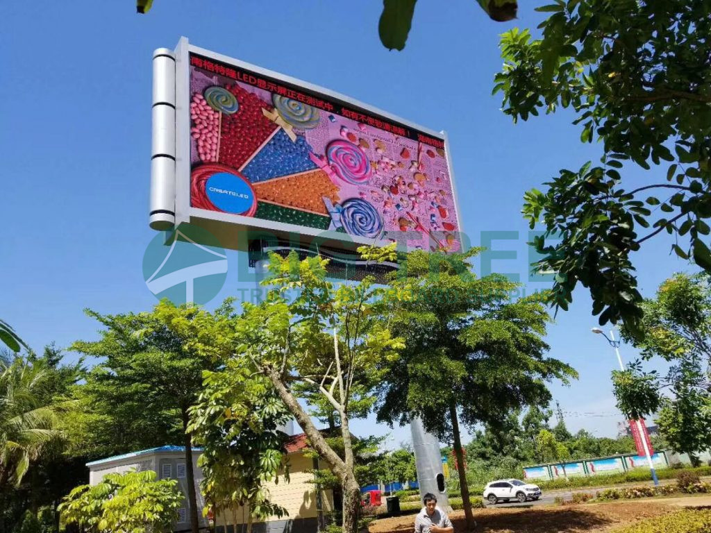 LED advertising display board