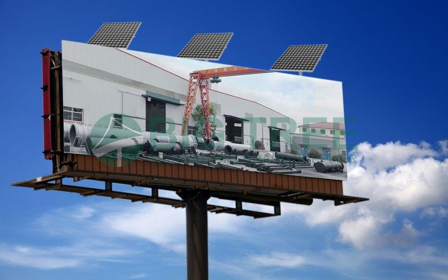 Bigtree solar billboard light-900