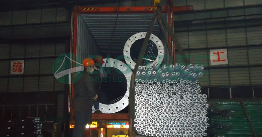 hot dip galvanized billboards with space grid structure-900a