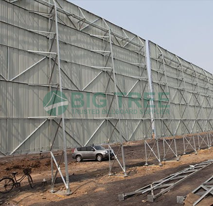 Unipole Hoarding Manufacturers & Suppliers in China